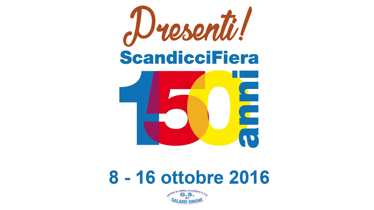 fiera di scandicci 2016